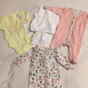 Old Navy/Gap 0-3 Month Baby Girl Clothes
